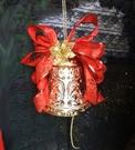 10吋刻花許願鐘 聖誕鐘串】聖誕節聖誕帽聖誕服花圈樹藤聖誕燈聖誕樹聖誕紅聖誕大鐘串b