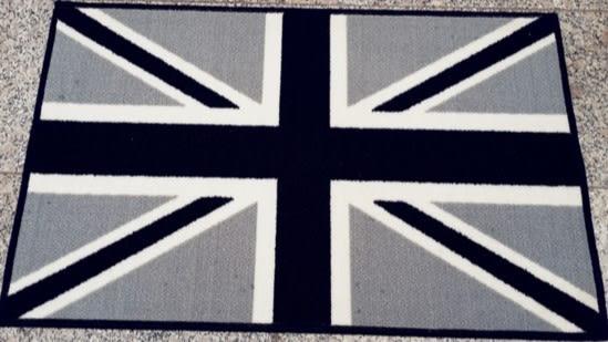 英國國旗地毯地墊55*65CM