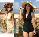 得來福,1234S亦美珊維多利亞女神大胸顯瘦比基尼游泳衣泳裝,直購價880元,現+預7-10