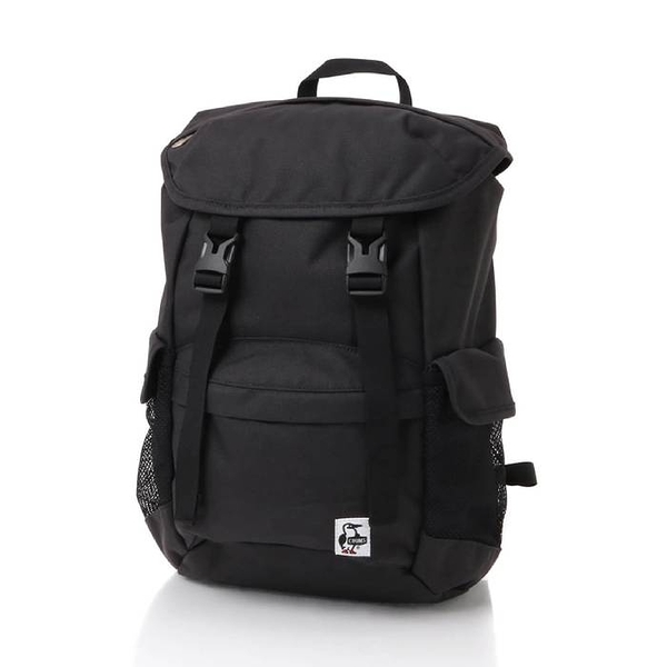 CHUMS Spruce Flap Day Pack 後背包 黑 CH602890K001【GO WILD】