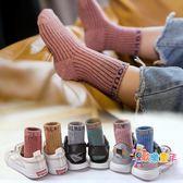 兒童襪子棉質男女孩秋冬中大童中筒加厚1-3-5-7-9-12歲 寶寶棉襪