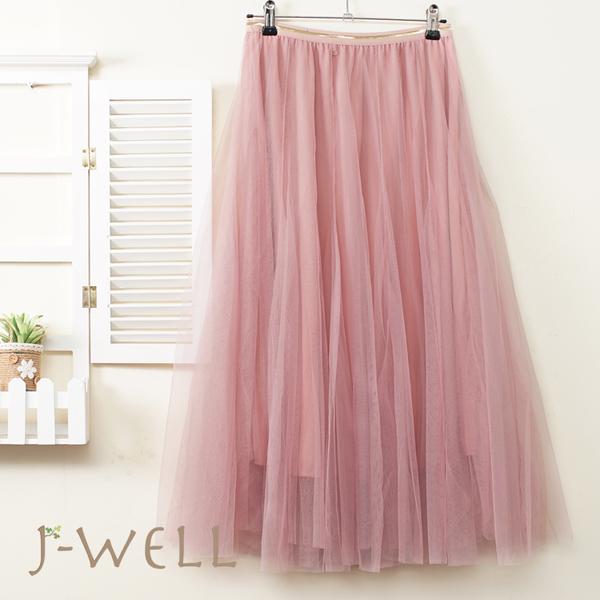 芭蕾舞者網紗裙 8J1575(4色)