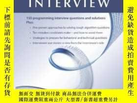 二手書博民逛書店Cracking罕見The Coding Interview, Fourth EditionY364682 G