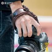 單反相機手腕帶快攝相機帶防摔微單腕帶【雲木雜貨】