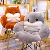 一體坐墊靠墊久坐靠背沙發椅墊凳子座墊榻榻米辦公椅【宅貓醬】