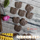 泰迪先生_小熊餅乾(巧克力味)25g