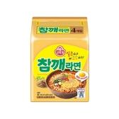 韓國不倒翁 芝麻拉麵(115gx4包入) 【小三美日】泡麵/進口/團購