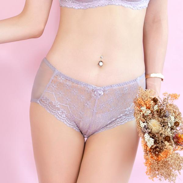 配褲→→→Amorous 私密內衣「法式戀人」涼感舒適軟鋼圈內衣