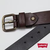 Levis 男款 雙面用皮帶 / 時尚針扣 / 牛皮皮革