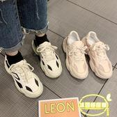 老爹鞋女ins潮新款韓版百搭厚底智熏鞋超火網紅運動跑步鞋子