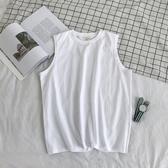 背心男潮內搭坎肩運動夏外穿上衣服跨欄男士純棉打底衫女無袖T恤 極客玩家