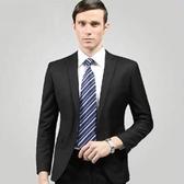 西裝套裝含西裝外套+褲子-個性魅力商務成套男西服6x32【巴黎精品】