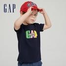 Gap男幼童 Gap x Ken Lo 藝術家聯名系列純棉短袖T恤 854744-海軍藍
