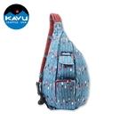 【KAVU】923 休閒肩背包 Rope Bag (12oz) / 城市綠洲 (單肩包、帆布包、斜背、美國品牌)