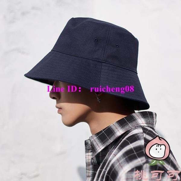 大帽檐漁夫帽夏大頭圍帽子男夏季防曬帽遮陽帽遮臉【桃可可服飾】
