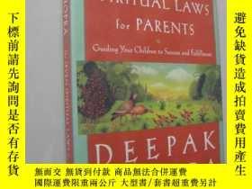 二手書博民逛書店The罕見seven spiritual laws for pa