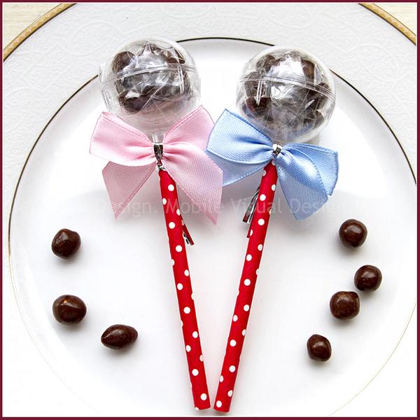 你好棒-米果巧克力棒棒糖---生日分享 聖誕糖果 二次進場 兒童獎品 來店禮 禮贈品 幸福朵朵