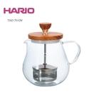 金時代書香咖啡 HARIO 橄欖木濾壓茶壺 700ml TEO-70-OV