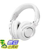 [106美國直購] Audio-Technica ATH-M50xWH 耳罩式耳機 Professional Studio Monitor Headphones