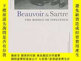 二手書博民逛書店Beauvoir罕見And Sartre: The Riddle