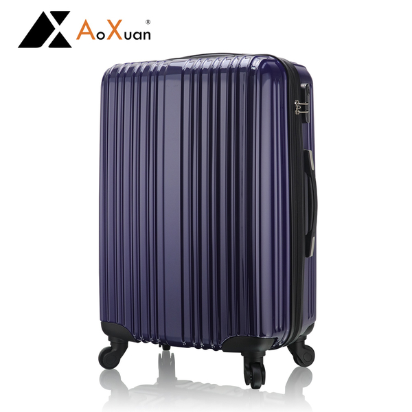 瘋殺價 行李箱 AoXuan 28吋 PC輕量耐壓抗撞擊 深藍色