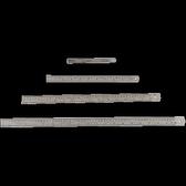 【徠福 LIFE 鋼尺】 徠福LIFE 鋼尺/直尺 (15cm) 12支/盒