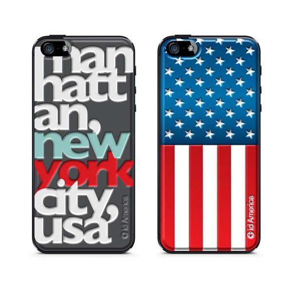 America Cushi iPhone 5/5S 立體手機彩繪貼-都會系列