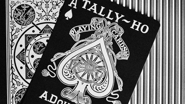 【USPCC撲克】TALLY-HO 銀粉蛇 VIPER 撲克 PERFORM 扇形背 FAN