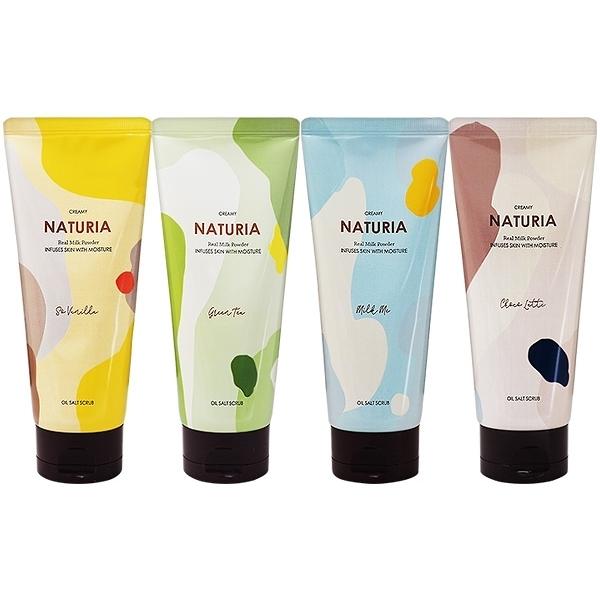 韓國 EVAS Naturia天然海鹽身體磨砂膏(250g) 款式可選 【小三美日】