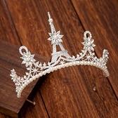 皇冠頭飾 巴洛克新娘結婚皇冠頭飾新款網紅公主十八歲成人生日禮物王冠【快速出貨八折鉅惠】