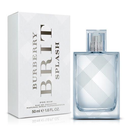 BURBERRY BRIT SPLASH 海洋風格 男性淡香水 50ml *10點半美妝館*