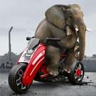 兒童汽車 兒童電動摩托車三輪車3-6歲小孩玩具車男孩女寶寶電瓶車可坐人TW【快速出貨八折鉅惠】