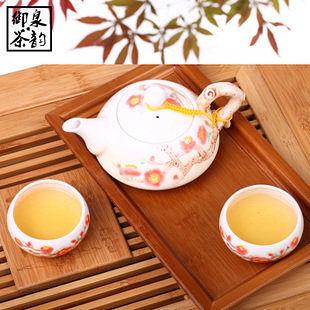 手彩陶瓷 一壺二杯 陶瓷茶具