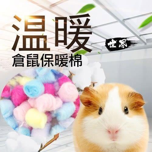 [寵樂子]《story》鼠用保暖棉花/五色綿花球(40g x3包)/寵物鼠/保暖