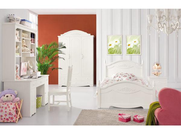 [首雅傢俬] 雪白公主 床邊櫃 床頭櫃 收納櫃