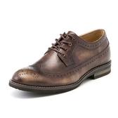 短靴真皮-繫帶英倫時尚巴洛克雕花男靴子2色73kk62【巴黎精品】
