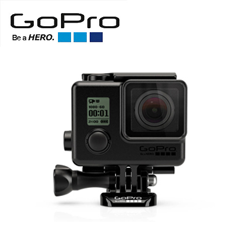 GoPro 40公尺 消光黑 防水殼 AHBSH-401