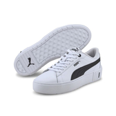 PUMA SMASH PLATFORM 女款黑白休閒運動鞋-NO.37303502
