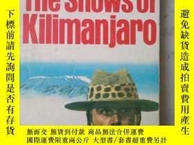 二手書博民逛書店The罕見Snows of Kilimanjaro and other stories(英文原版)Y7353