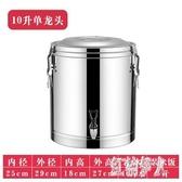304不銹鋼保溫桶商用超長保溫飯桶大容量茶水桶豆漿桶奶茶桶冰桶 aj7668『紅袖伊人』
