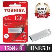 【95折限定↘+免運費】TOSHIBA 128G Biwako U363 USB3.0 R120MB/s 金屬 USB隨身碟X1P【金屬外殼/R120MB/s 】
