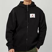 Nike Flt Flc FZ Solid 男款 黑 刷毛 抽繩 連帽 運動 外套 CV6145-010