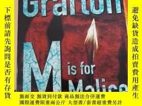 二手書博民逛書店M罕見is for Mallice   Sue Grafton.Y272159 Sue Grafton FAW