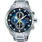 ALBA 潮流任我行運動腕錶/廣告款/VK67-X010B/AV6063X1
