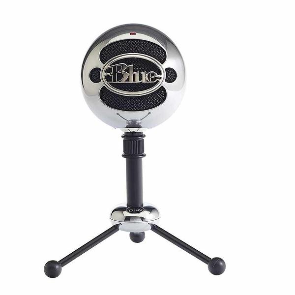 Blue Snowball 鋁合金麥克風 USB Microphone 黑/銀 [2美國直購]
