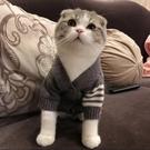 潮牌寵物春裝開衫貓搞怪毛衣貓咪狗狗衣服小狗泰迪比熊小型犬 韓語空間