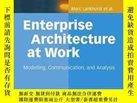 二手書博民逛書店Enterprise罕見Architecture At Work: Modelling, Communicatio