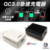 [富廉網] 【Topcom】TC-Q310 USB急速充電器 快充 QC3.0 白/黑