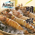 野生超大明蝦 斑節蝦 / 日本對蝦 / 九節蝦  ( 150g±10%_尾 )【大溪現流】