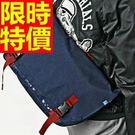 側背包郵差包有型-明星同款走秀款優質肩背男包包6色57b8【巴黎精品】